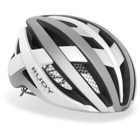 Rudy Project Venger Road Helm, white/silver matte